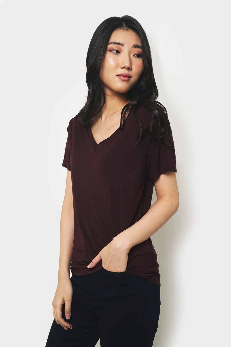 The Dress Code Super Soft V-Neck