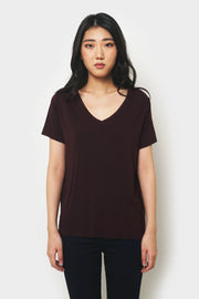 Basic Super Soft V-Neck Tee