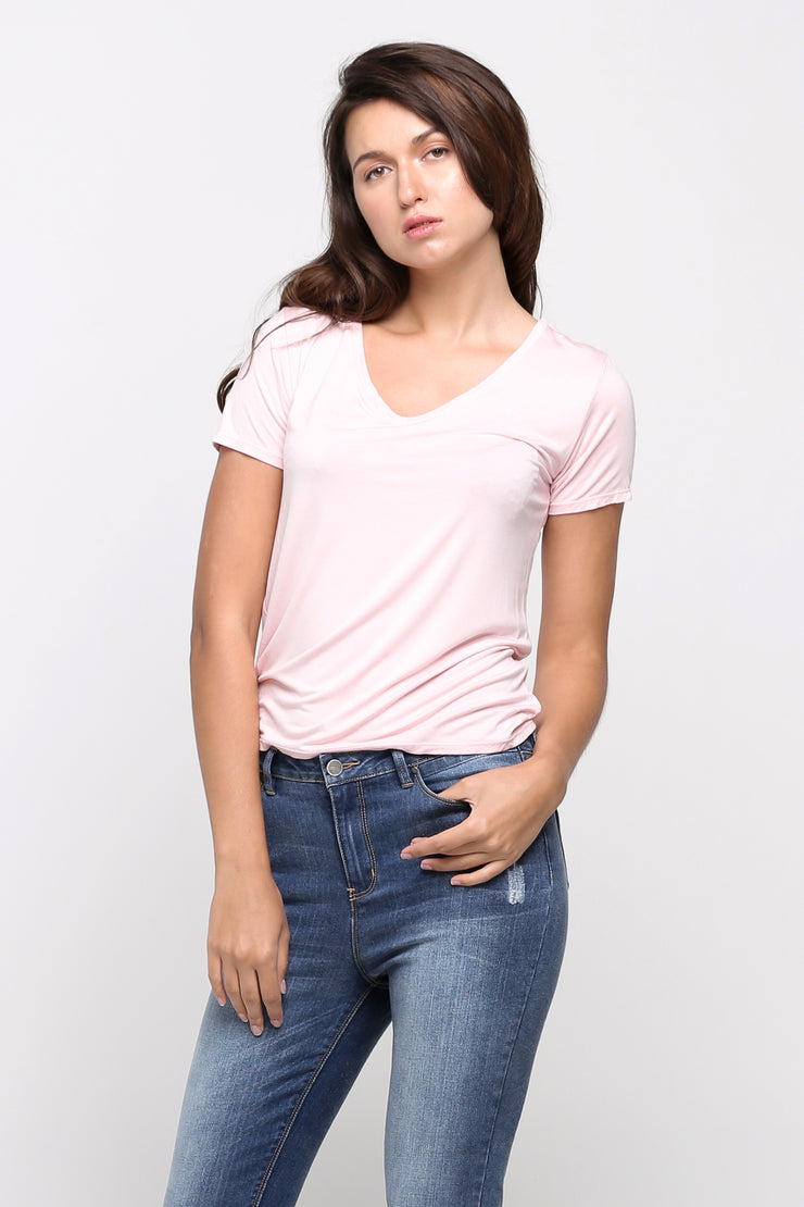Super Soft Regular Fit V-Neck Tee