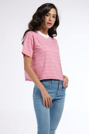 Striped Boxy Fit Tee