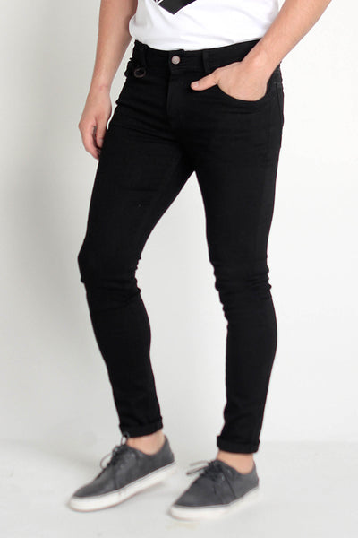 Super Skinny Fit 5-Pocket Jeans With Zipper Fly