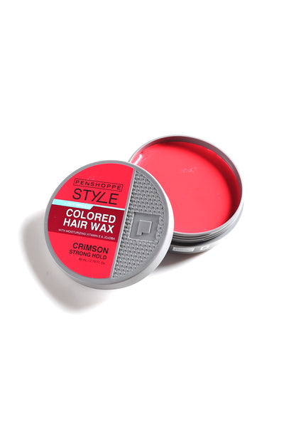 Penshoppe Style Colored Hair Wax Crimson 80ML