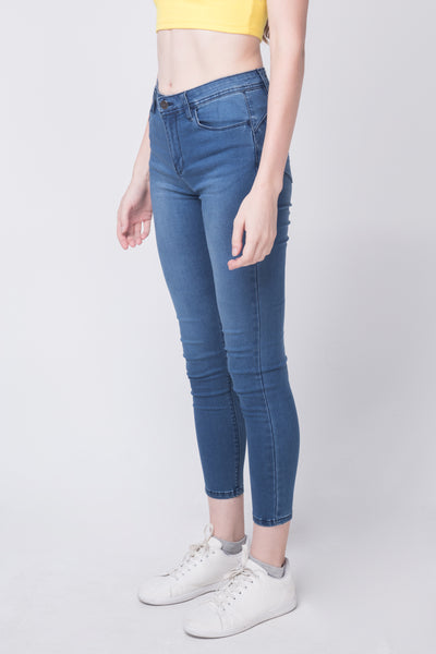 Power Stretch®  Mid Waist Super Skinny Jeans