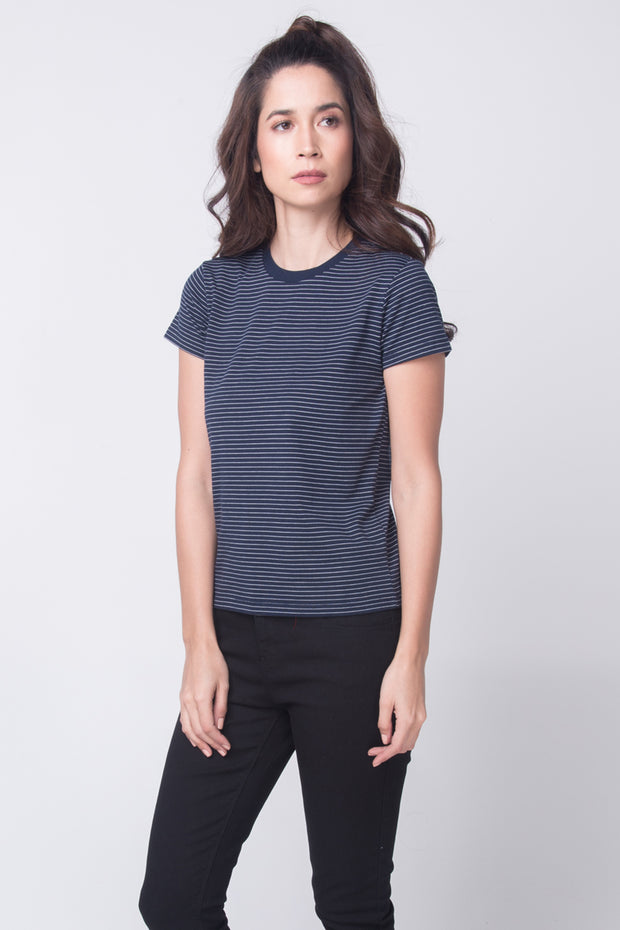 Striped Relaxed Fit Tee
