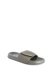Men's Flat Knit Sliders With Velcro