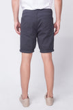 Tapered Fit 5-Pocket Shorts With Zipper Fly