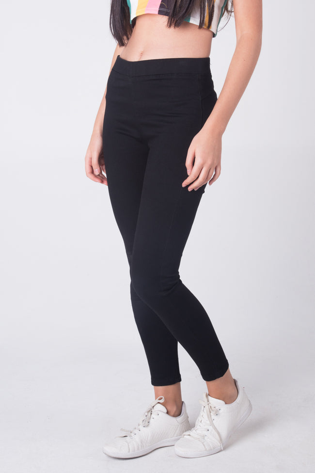 Power Stretch® Jeggings With Patch Pockets
