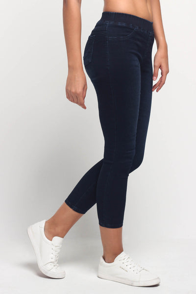 Power Stretch® Jeggings With Elastic Waistband
