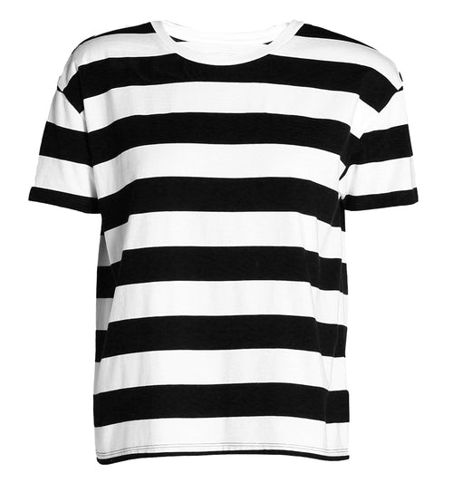 Women's Striped Boxy Fit Tee