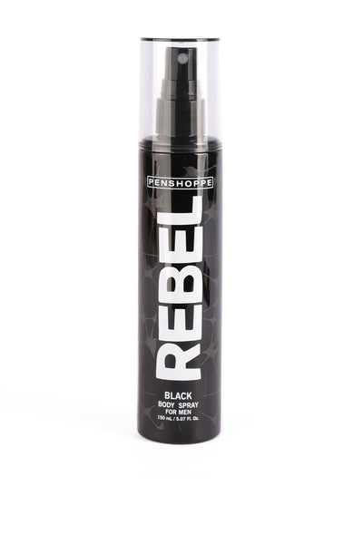 Rebel Black Body Spray For Men 150ML