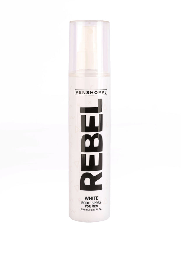 Rebel White Body Spray For Men 150ML