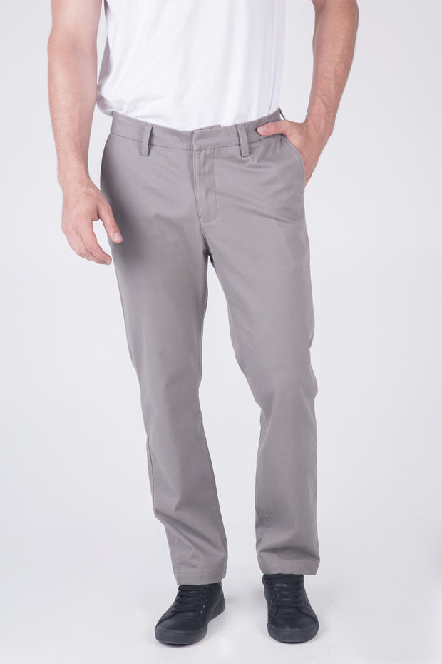 Relaxed Fit Chinos With Welt Pockets
