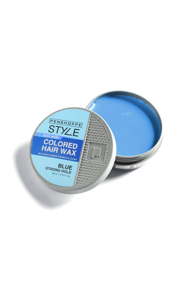 Penshoppe Style Colored Hair Wax Blue 80ML