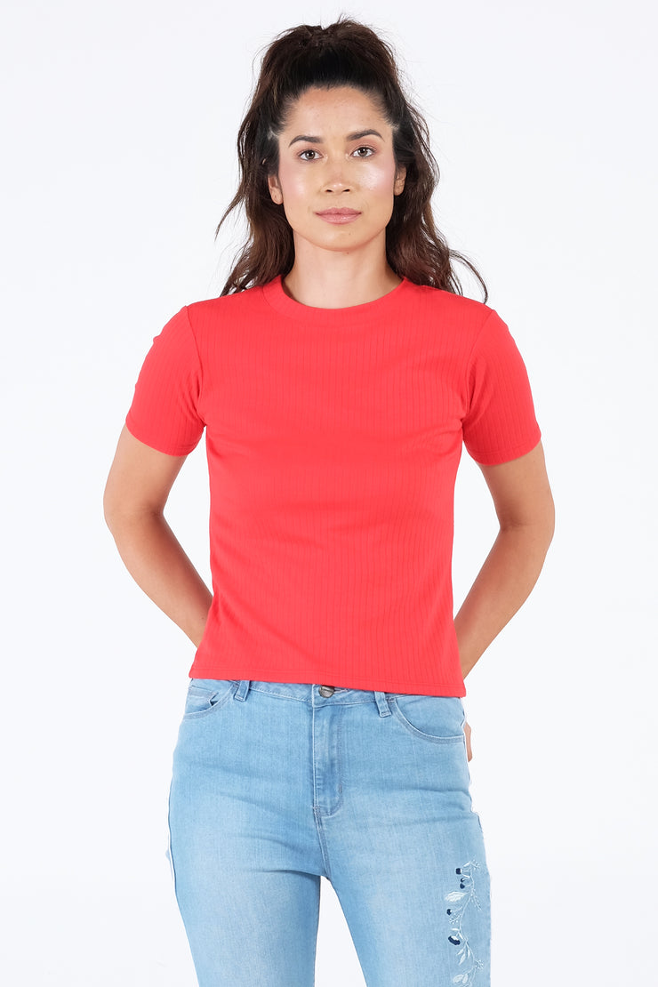 The Dress Code Ribbed Tee