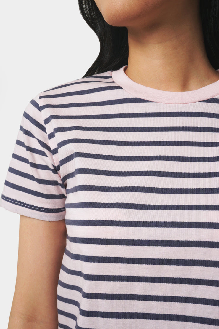 Striped Boxy Tee