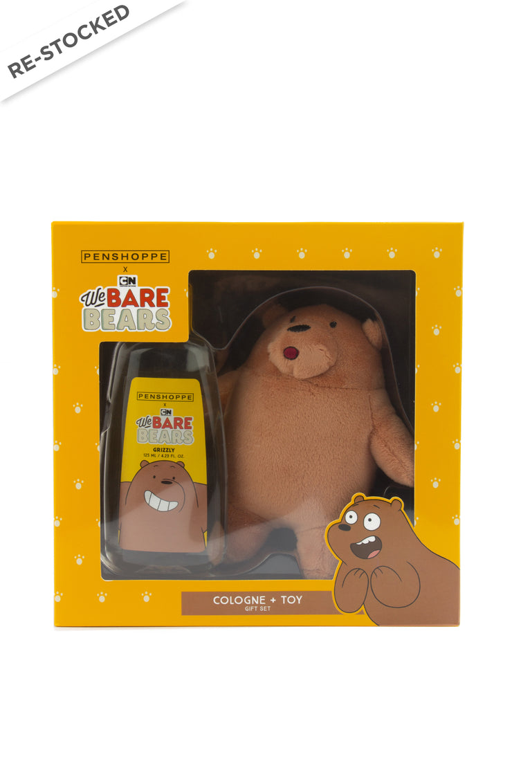 Penshoppe X We Bare Bears Grizzly Giftset