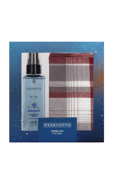 Penshoppe Denim Love for Men Giftset
