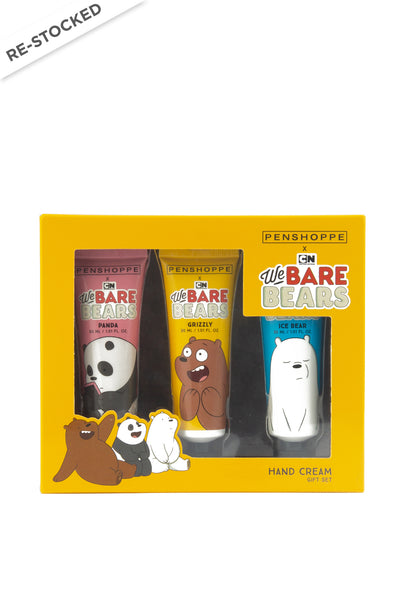 Penshoppe X We Bare Bears Hand Cream Giftset