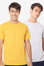 Basic Round Neck Bundled Tees