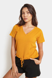 The Dress Code Ribbed Boxy Tee
