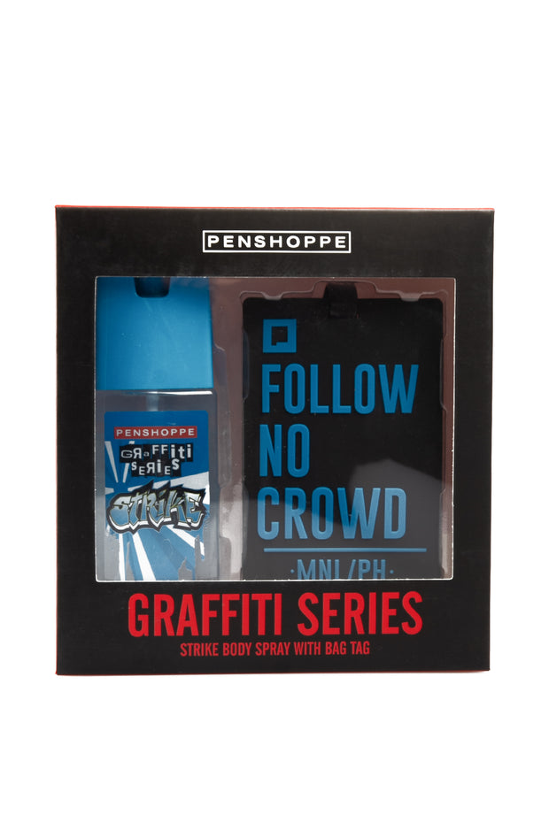 Graffiti Strike for Men Bag Tag Gift Set