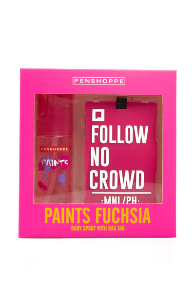 Paints Fuchsia for Women Gift Set