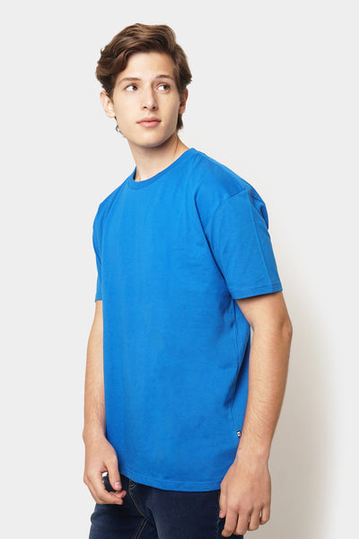 Basic Relaxed Tee with Yoke