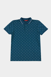 Men's Polo with All Over Print