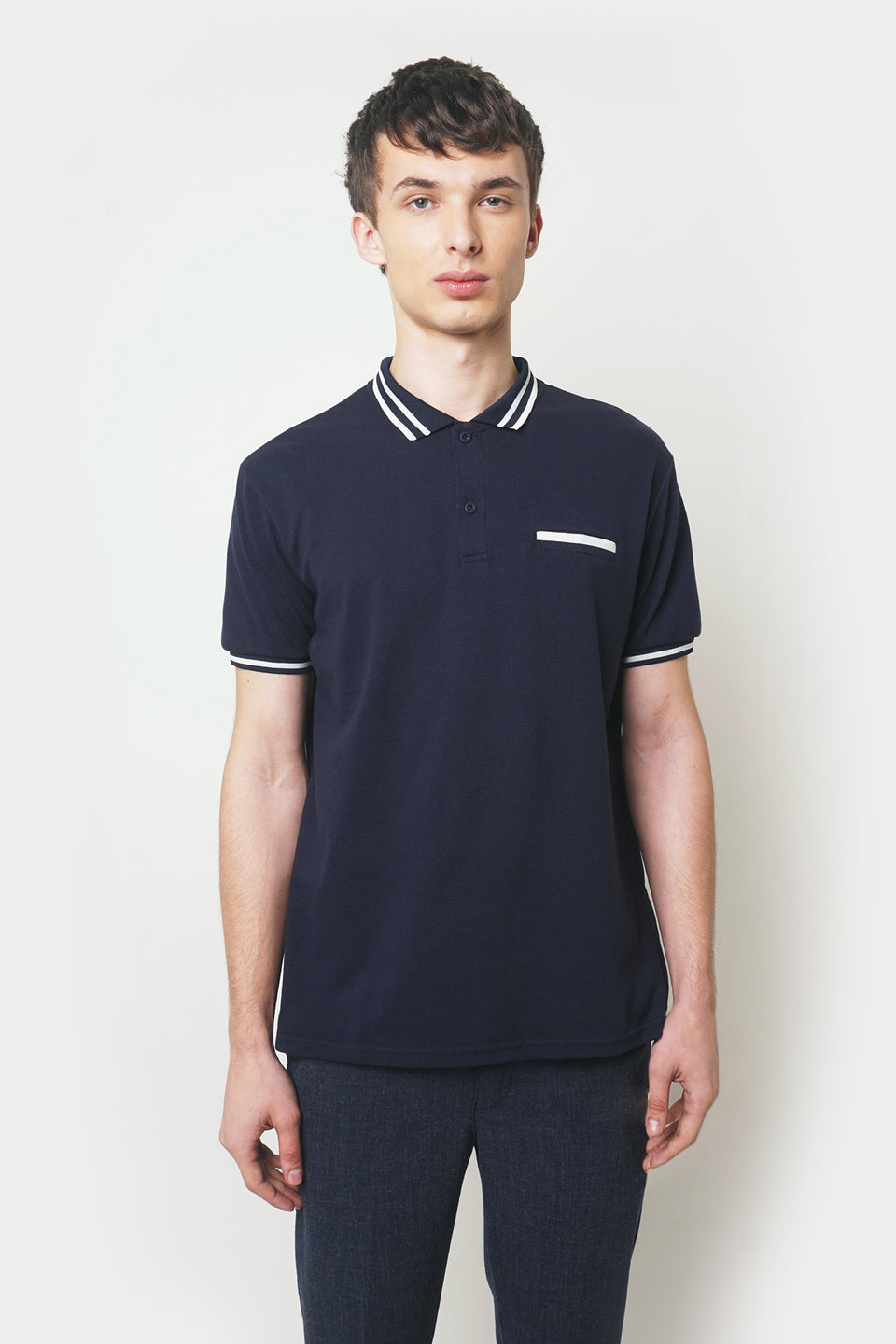 Basic Polo With Tipping