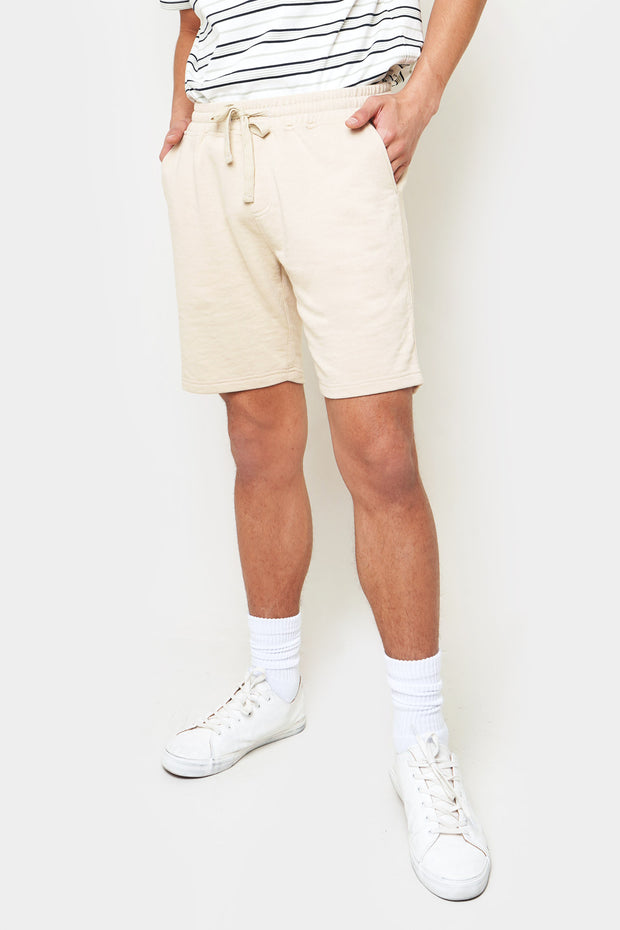 Regular Fit Knit Shorts