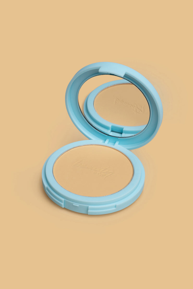 Beauty Pop Mattifying Pressed Powder In Buttermilk