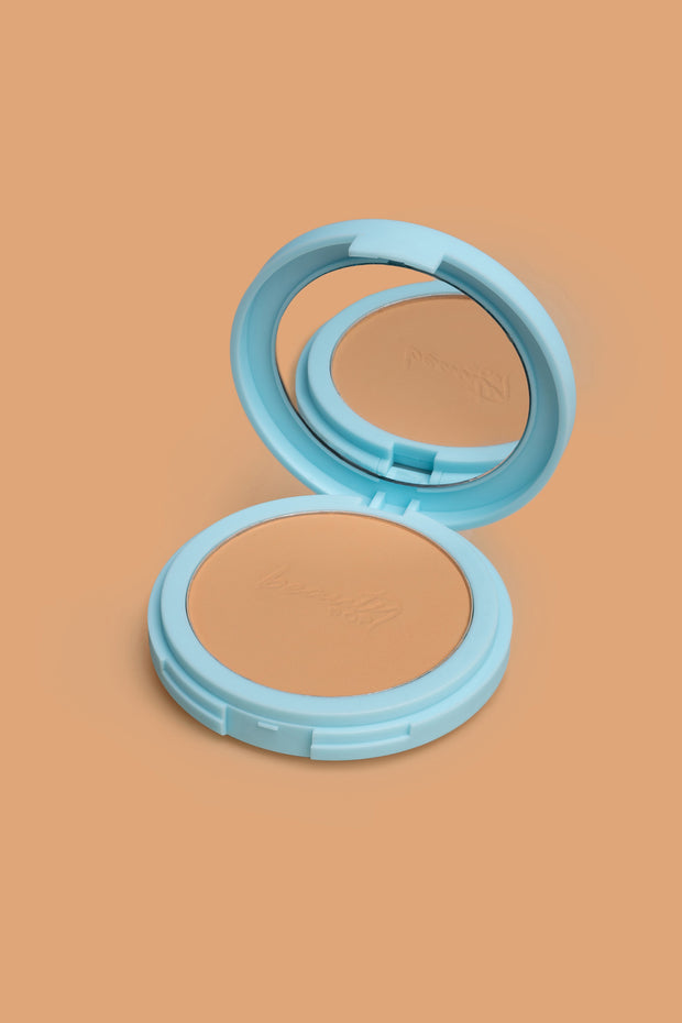 Beauty Pop Mattifying Pressed Powder In Soft Honey