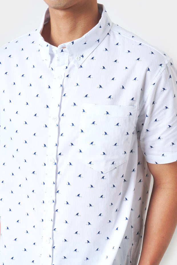All Over Print Relaxed Shirt