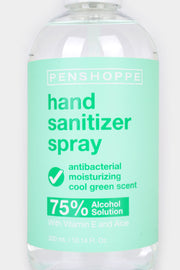 75% Alcohol Hand Sanitizer Spray Cool Green 300ml