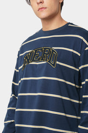 Nerd Striped Graphic Tee