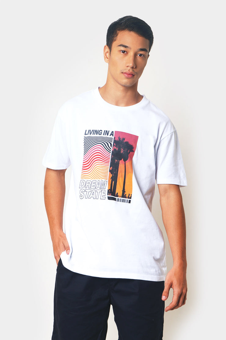 Living In A Dream State Graphic Tee