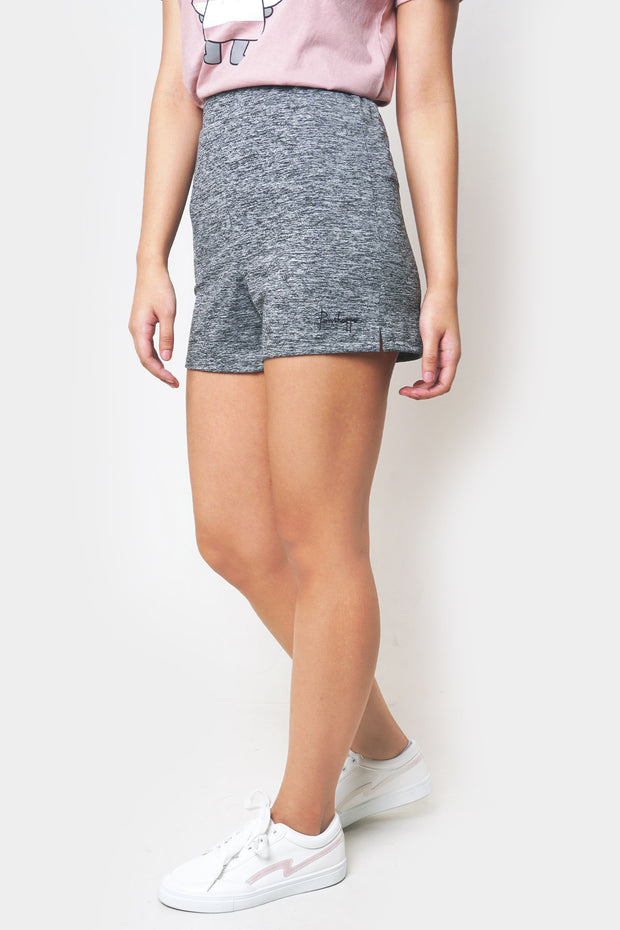 Regular Fit Lounge Shorts with Penshoppe Scribble