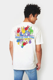 Spread The Vibe Relaxed Fit Tee