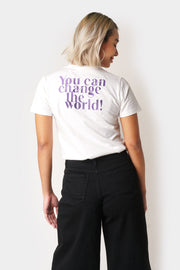 Don't Give Up Graphic Tee