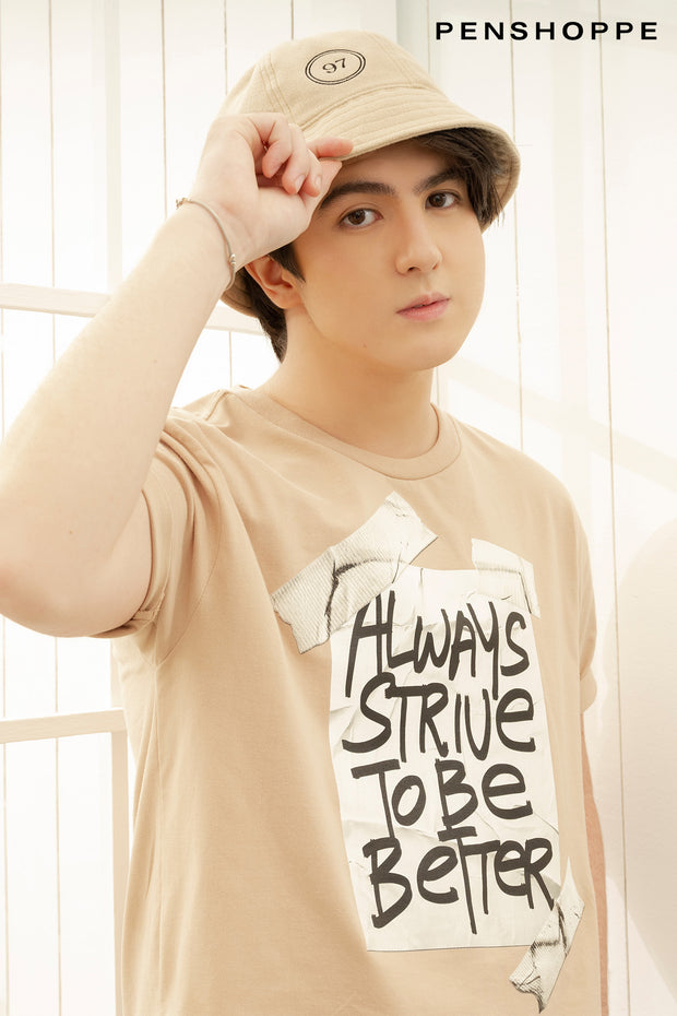 Always Strive To Be Better Relaxed Fit Tee
