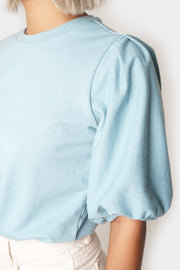 Puff Sleeve Texture Top