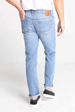 Slim Fit 5-Pocket Jeans With Zipper Fly