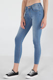 Power Stretch®Low Waist Super Skinny Jeans In Light Wash