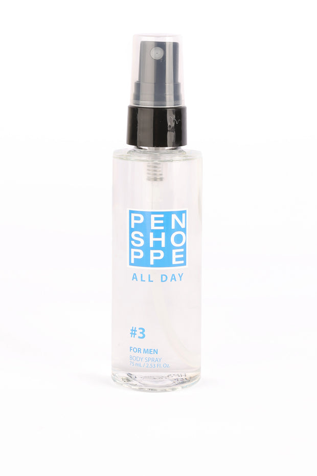 All Day Blue Body Spray For Men 75ML