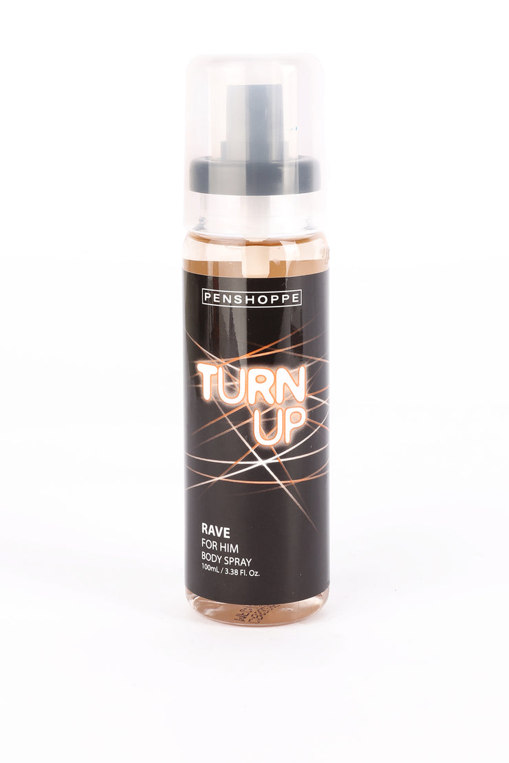 Turn Up Rave Body Spray For Men 100ML
