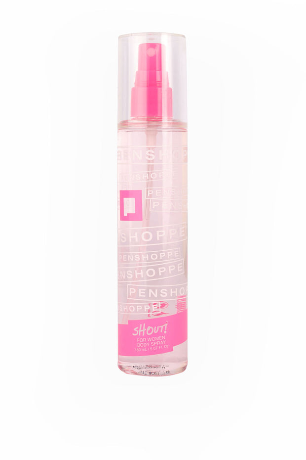 Penshoppe Shout Pink Body Spray For Women 150ML