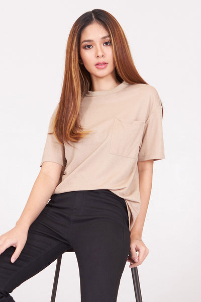 Dress Code Relaxed Tee with Pocket