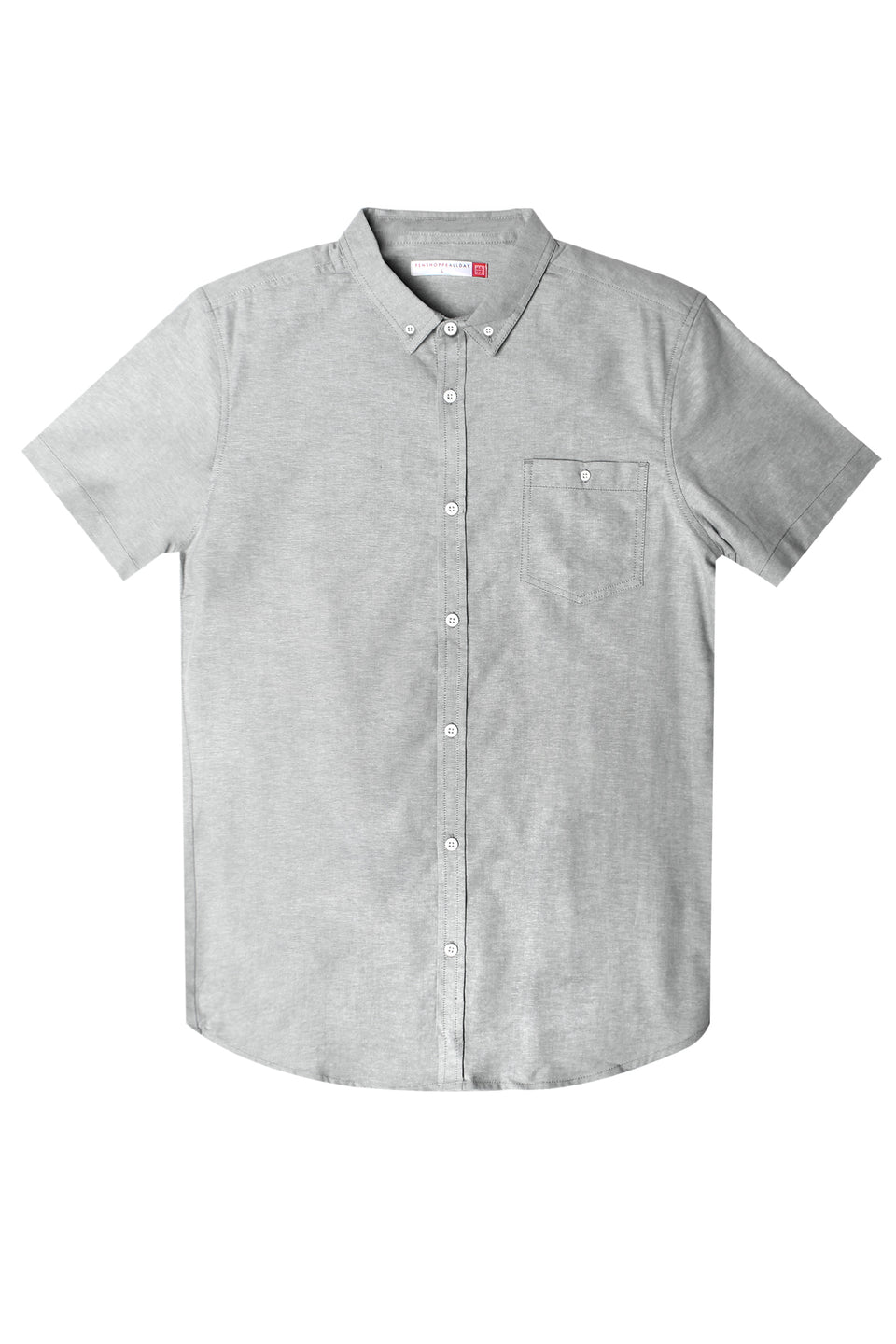 Men's Oxford Shirt With Button-Down Collar