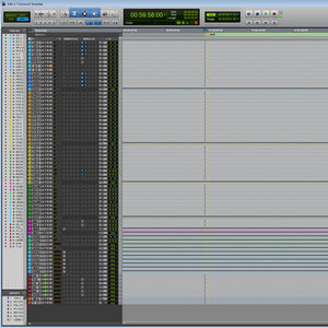 5.1 Surround Pro Tools Template - Sound Tutorials Store