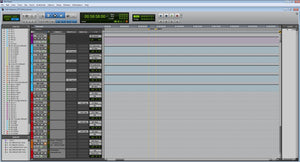 Advance Pro Tools Film Editorial Template - Sound Tutorials Store